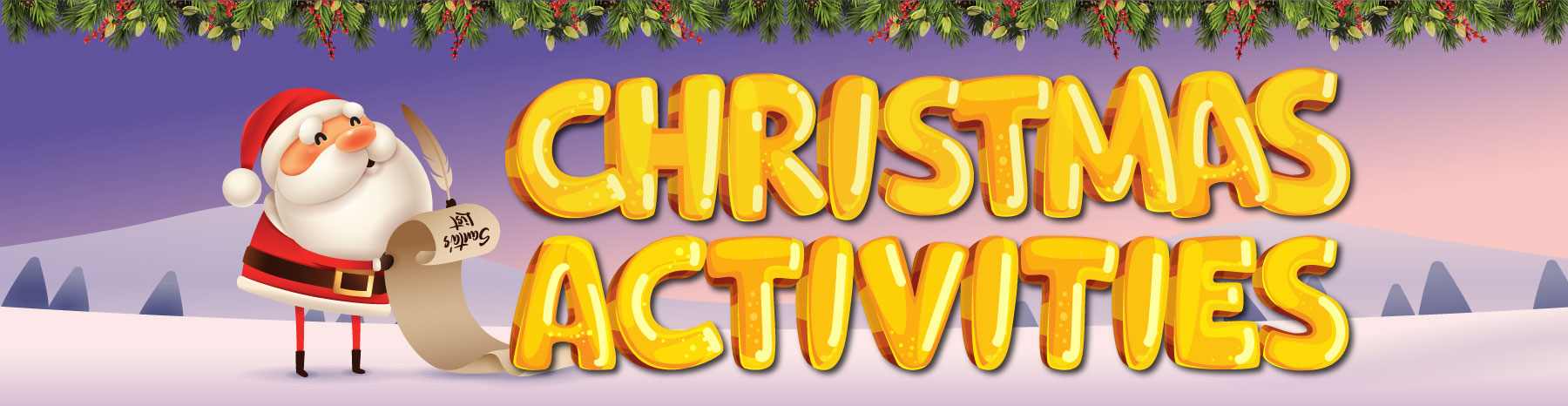 Christmas activities at Holmview central shopping centre