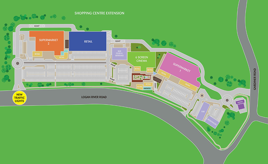 Holmview Central - Map